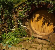 A Hobbit Hole by Barbara  Brown