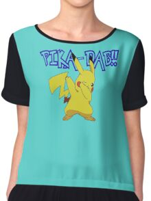 Pika-Dab!! Chiffon Top