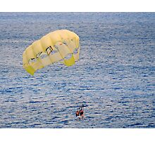 Fun in the Sun-Parasailing Photographic Print