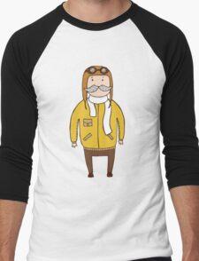 Pilot Men's Baseball ¾ T-Shirt