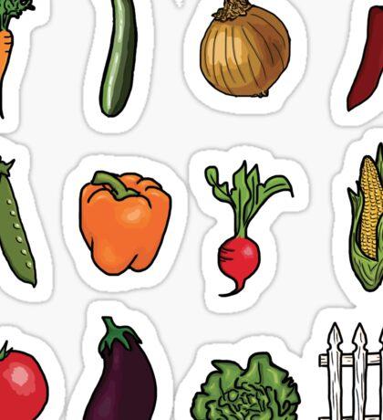 Vegetable Garden Sticker