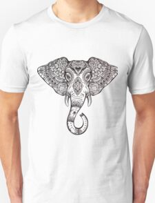 Vintage ornate ethnic elephant with tribal ornaments. T-Shirt