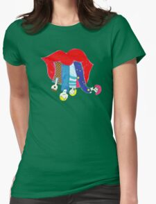 Blah!   Womens Fitted T-Shirt