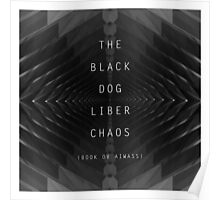THE BLACK DOG PRODUCTIONS LIBER CHAOS Poster