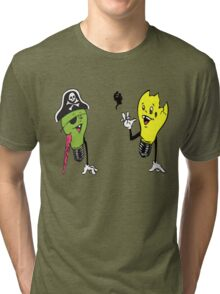 Queens of the Stone Age - Era Vulgaris Bulby and Stumpy Tri-blend T-Shirt