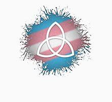 Transgender Pride Triquetra Unisex T-Shirt