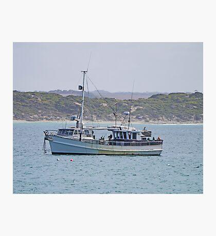 Anchored, Kangaroo Island, Australia Photographic Print