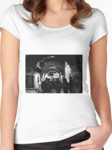 Borough Market  Women's Fitted Scoop T-Shirt