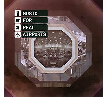 THE BLACK DOG PRODUCTIONS MUSIC FOR REAL AIRPORTS Photographic Print
