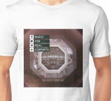 THE BLACK DOG PRODUCTIONS MUSIC FOR REAL AIRPORTS Unisex T-Shirt