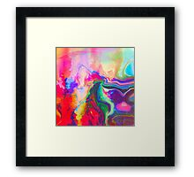 Melting In The Sun. Framed Print