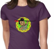 AMOK - retro surfer / surfboard Womens Fitted T-Shirt