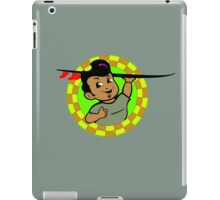 AMOK - retro surfer / surfboard iPad Case/Skin