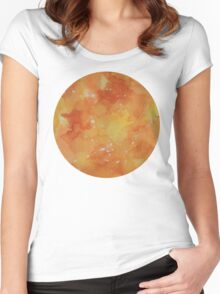 Galaxy Sphere 4 Women's Fitted Scoop T-Shirt