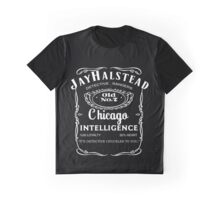 Jay Halstead Whiskey Graphic T-Shirt