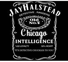 Jay Halstead Whiskey Photographic Print