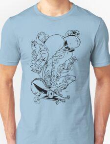 Skatewurst B/W Unisex T-Shirt