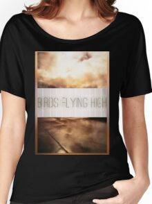 Birds Flying High Women's Relaxed Fit T-Shirt