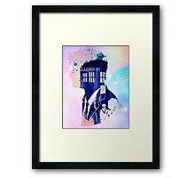 Doctor who-David Tennant tenth doctor Framed Print