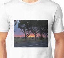 Sunrise, between Stawell and Horsham, Vic., Australia Unisex T-Shirt