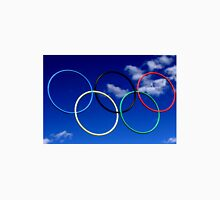 Olympic Rings at Squaw Valley, Ca. Unisex T-Shirt