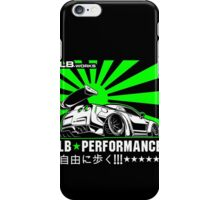 GTR LB Performance Green iPhone Case/Skin