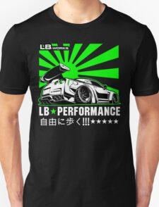 GTR LB Performance Green Unisex T-Shirt