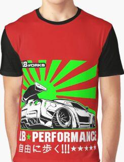 GTR LB Performance Green Graphic T-Shirt