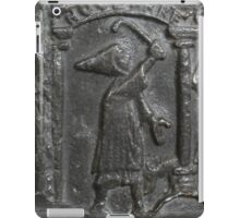 Medieval Lead Font, Dated 1150 iPad Case/Skin