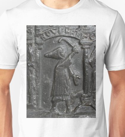 Medieval Lead Font, Dated 1150 Unisex T-Shirt
