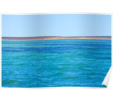 Ningaloo Cliff Poster