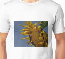 Red Admiral, Bumble Bee & Sunflower Unisex T-Shirt