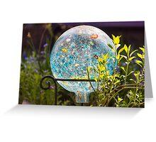 Garden Gaze Greeting Card
