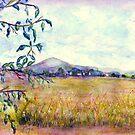 Field of Grain by Robin Monroe