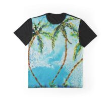 Dancing Palm Trees Graphic T-Shirt