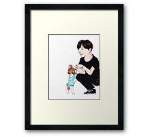 My Little Hope Framed Print