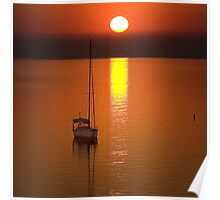 Sunrise - Corio Bay Poster