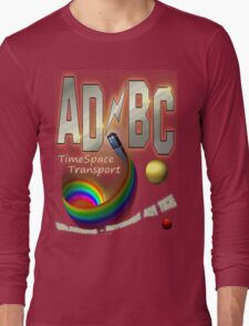 AD/BC Transport Design Long Sleeve T-Shirt