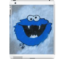 The Blue Fuzzy Monster iPad Case/Skin