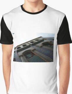 Muslin mosque facade with decorative mosaic. Graphic T-Shirt
