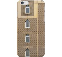 Building facade with many windows and Muslim decoration. iPhone Case/Skin