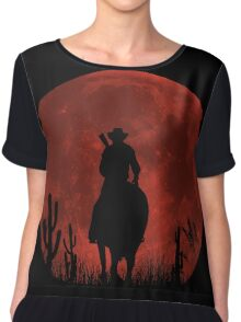 Lonesome Cowboy (v2) Chiffon Top