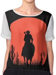 Lonesome Cowboy Chiffon Top