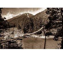 0361 Bullers Gorge SP Photographic Print