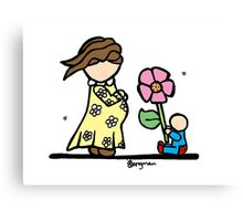 Little Ones - For Mum! Canvas Print