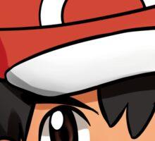 XY Ash Sticker