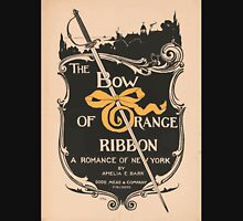 Artist Posters The bow of orange ribbon a romance of New York by Amelia E Barr Dodd Mead Company publishers LF Hurd 0578 Unisex T-Shirt