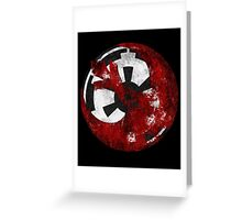 Rebel Alliance and the Galactic Empire Greeting Card