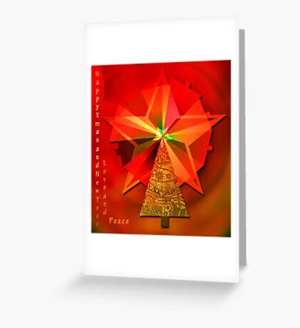 Happy Xmas and New Year Greeting Card