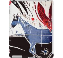 Horse and Spider Woodcut iPad Case/Skin